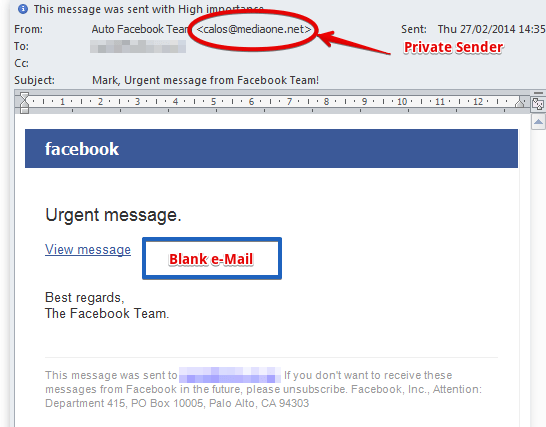 The Most Common Facebook Scams