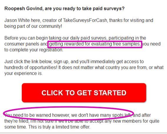Take Cash for Surveys by Jason White