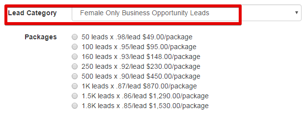 The Conversion pros- the expense of buying leads