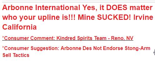 arbonne customer complaint no support from arbonne 2nd complaint