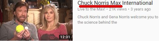 Chuck Norris endorses Max International pRODUCTS