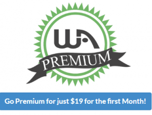 Sign up to the wealthy affiliate premium membership