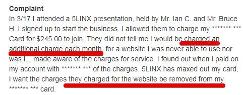 5linx iMR complaints