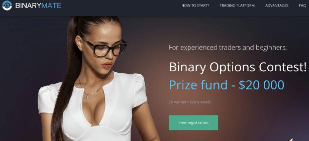 How binarymate lures men into the program?