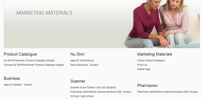 Nu Skin Business tools
