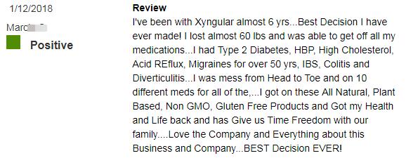 Xyngular product reviews