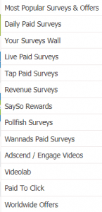 Offernation paying survey jobs