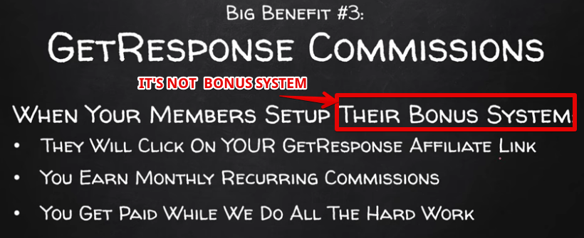 easy earn commissions is scam , not a bonus sysytem