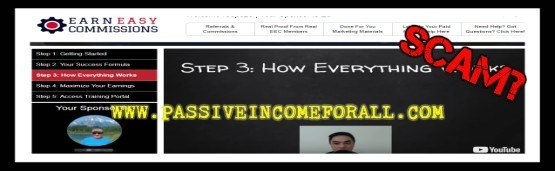 Easy Earn Commissions Review is Easy Earn Commissions a scam