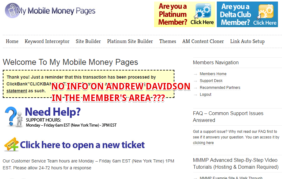 Who is the founder of My Mobile Money Pages