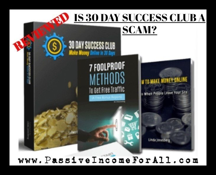 Is 30 Day Success Club A SCAM