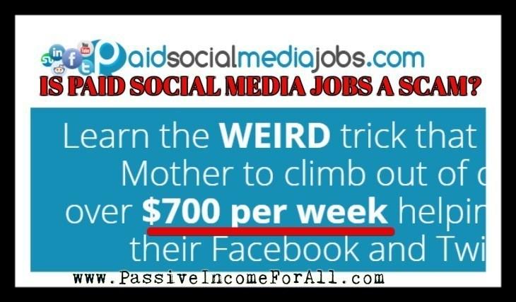 Is Paid social media jobs a scam