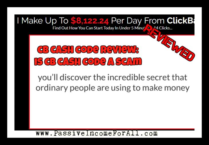 CB Cash Code Review Is CB Cash Code a Scam