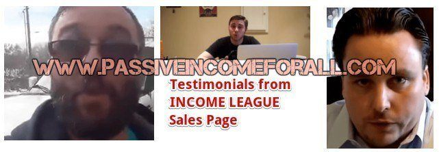 Income League fake testimonials and income league is a scam