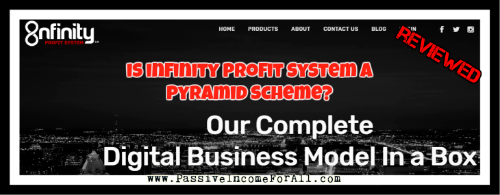 Infinity Profit System Review, Is Infinity Profit System a Scam?