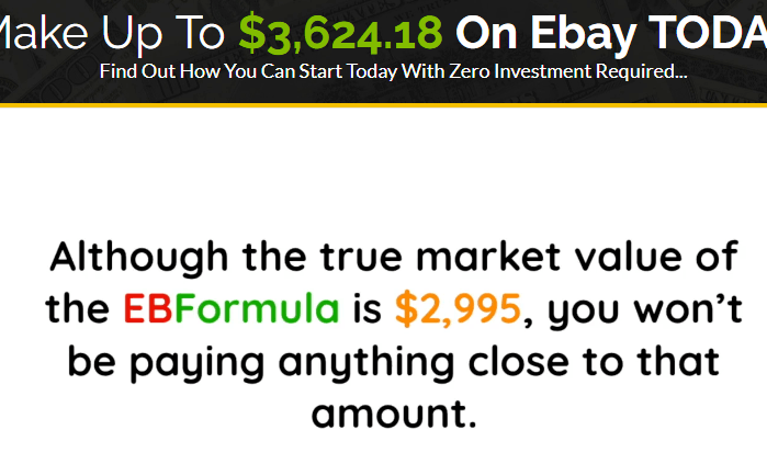 What is the costs of the EB Formula? heavily discounted