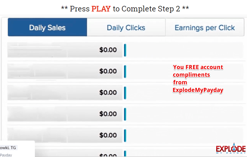 Explode my Payday review free account is a lie