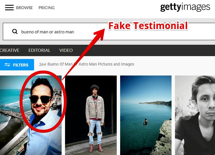 My ecom Club is a scam with fake testimonials