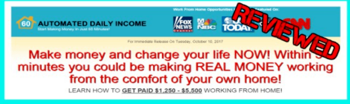 My Home success plan and automated daily income are the same. My Home Success plan is a scam
