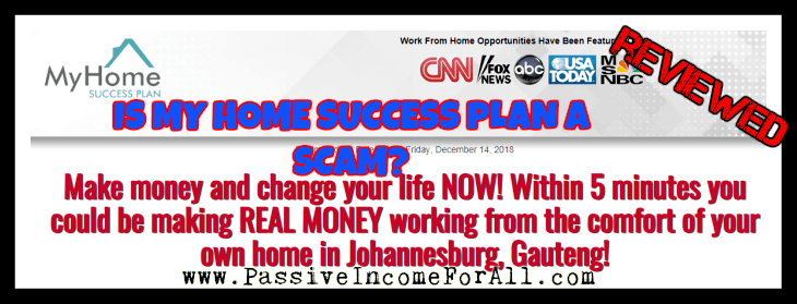 Is My Home Success plan a scam