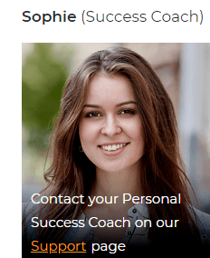 Auto Chat Profits has a fake support coach