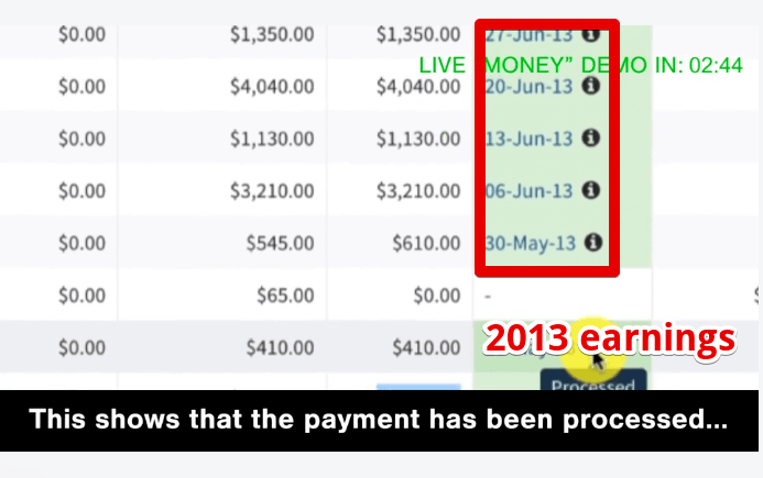 Is Auto Chat Profits a scam showing 2013 earnings