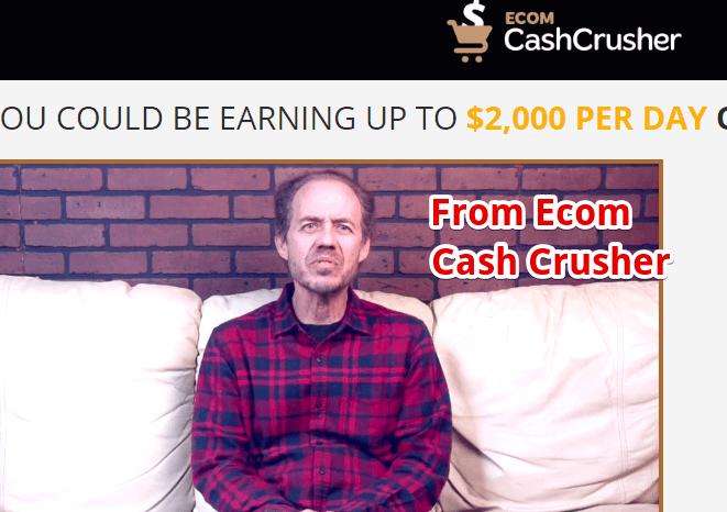 Ecom Cash Crusher has fake testimonials