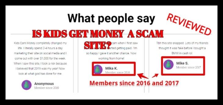 Kids get money review is kids get money a scam