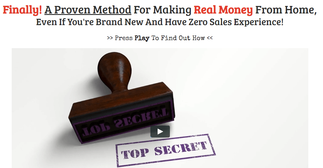 the profit shortcut is a scam saying that it's highly secretive