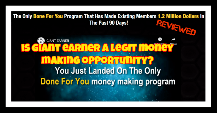 Giant Earner Review Is Giant Earner a Scam