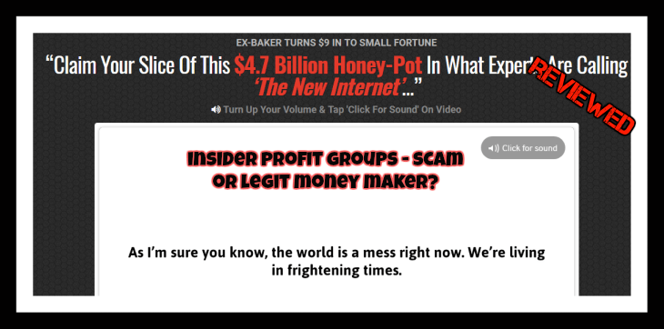 Insider Profit Groups Review Is Insider profit groups a scam