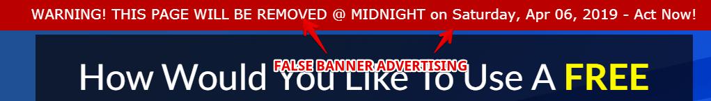 7 minutes daily profits false advertising