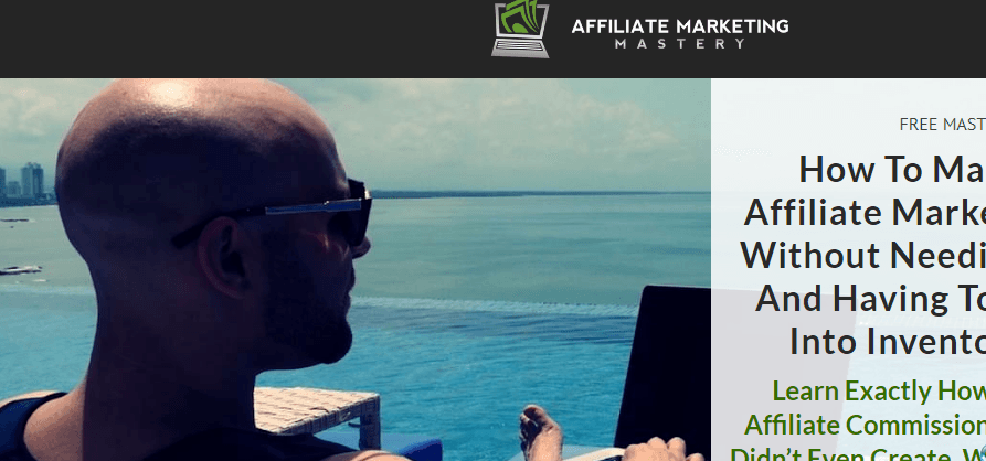 Is Affiliate marketing mastery a scam, stefan sitting by the beach