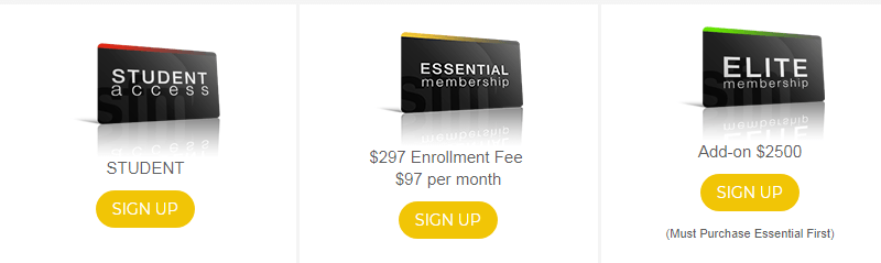 Is Six Figure Mentors a Scam the membership options