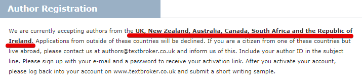 Is Textbroker legit how do you join textbroker, the signup process
