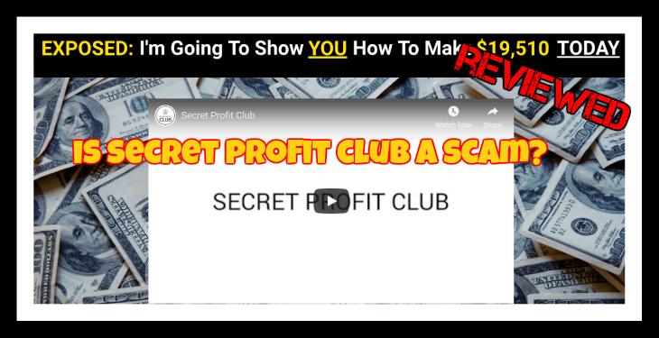 Secret Profit Club Review featured image