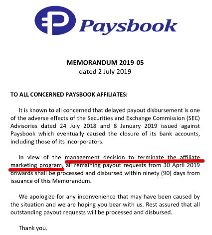 Paysbook review is Paysbbok a scam