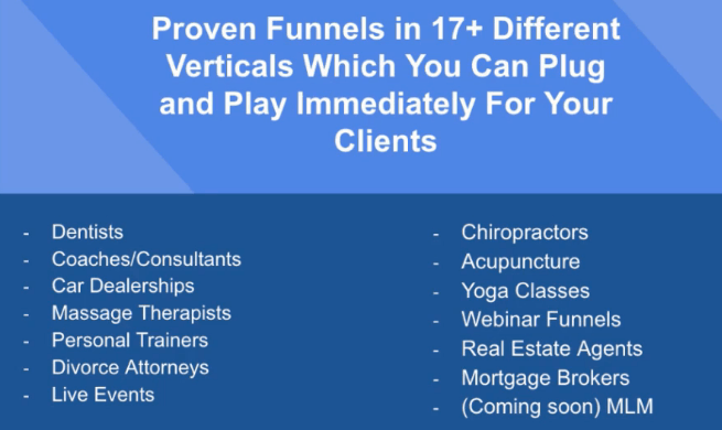 work from anywhere accelerator 17 funnels that are available