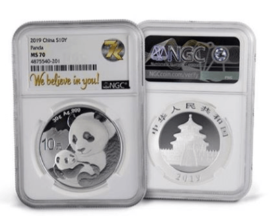 7k Metals review the China Panda silver collection