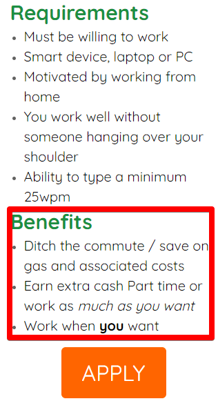 AOJ work from home jobs is a scam as they have misleading marketing