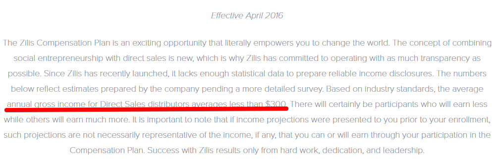 Is Zilis a scam? What is the average gross income for a Zilis distributor