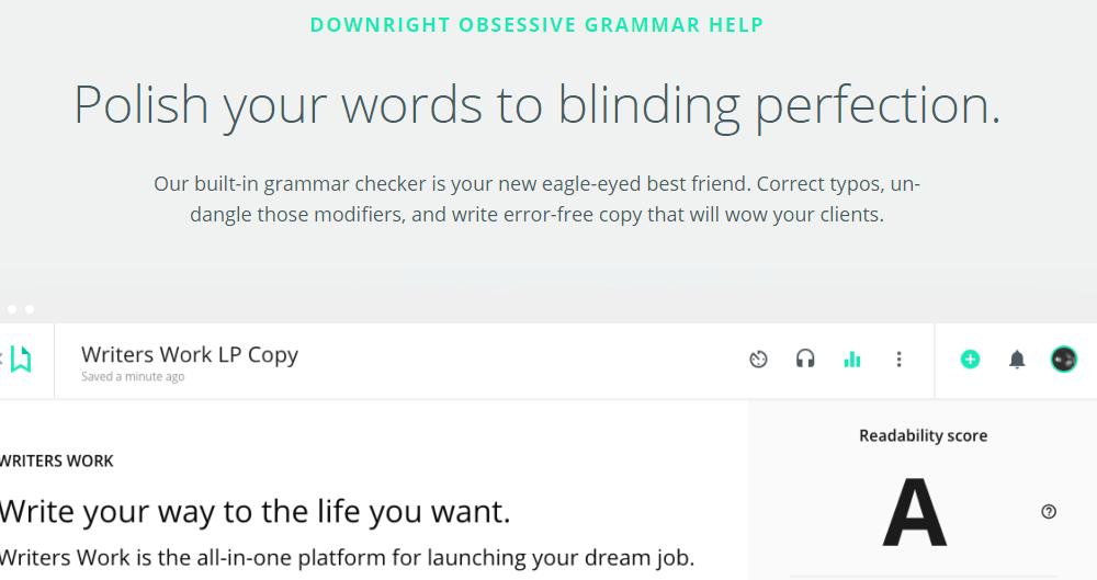 Writers.work grammar tool, does it really help