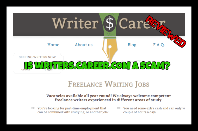 Is WritersCareer.com a scam featured image