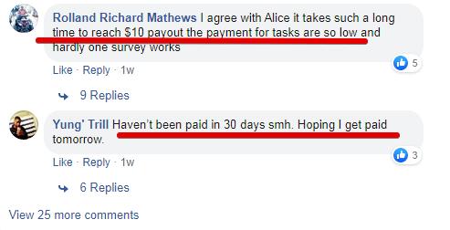 It takes a long tim eto earn on Timebucks
