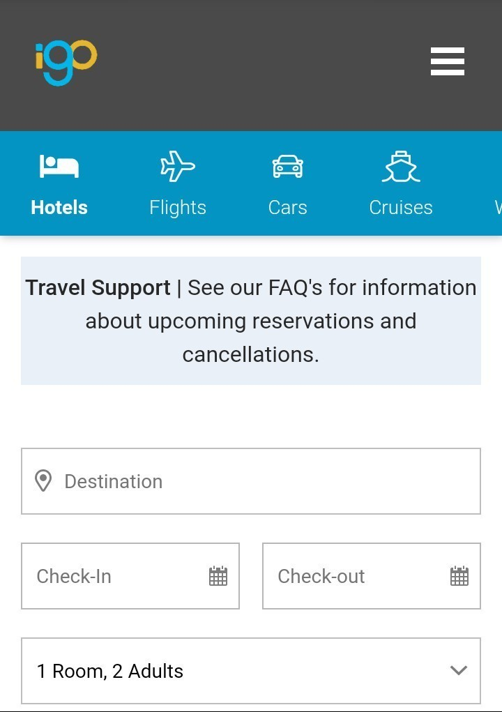 What is the igo booking platform all about