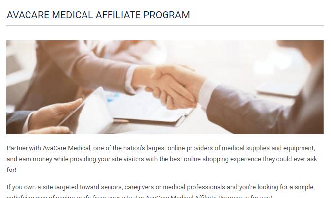 avacare medical affiliate program