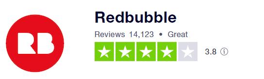 Redbubble reviews trustpilot