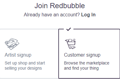 Redbubble review how to sign-up with redbubble