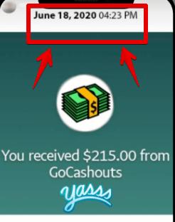 GoCashouts.com testimonials are fake
