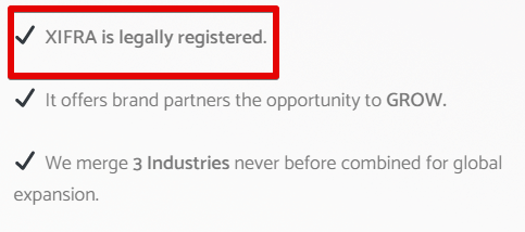 Xifra Lifestyle review xifra red flags xifra is not legally registered